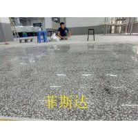 高要厂房地面翻新—小湘镇水磨石固化施工