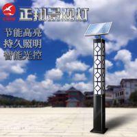 新款太阳能景观灯 3米方形中式园林景观灯柱 定做特色LED景观路灯