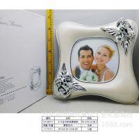 相框相册批发网创意时尚个性10寸正方形电镀相架宝宝影楼照片墙V