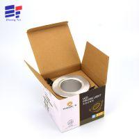 深圳厂家定做LED灯泡包装盒子 白卡纸质折叠照明灯具彩盒印刷订制