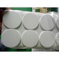 厂家定制白色EVA垫片 泡棉垫 单面双面背胶垫片