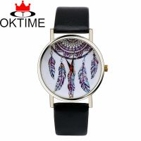 OKTIME 捕梦网韩版时尚皮带手表 捕梦网追风者韩版手表 中性表