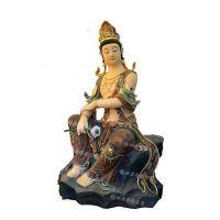 自在观音菩萨彩绘佛像