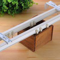 窗帘轨道滑轨 铝合金窗帘轨道多少钱一米