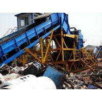供应废旧集装箱破碎机 金属压块破碎机 蝴蝶笼粉碎机