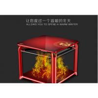 电暖桌家用小型多功能电暖炉暖脚电烤桌电取暖桌烤火桌