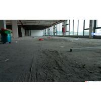 桥头停车场地面无尘硬化--石排金刚砂起灰处理--石竹厂房水泥地固化