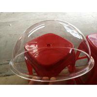 直径30CM透明亚克力半球罩 有机玻璃猫窝壳