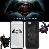 韩国代购DC正品蝙蝠侠手机壳iphone7防摔硅胶软壳超人7plus保护壳