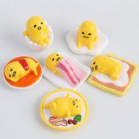 日本ぐでたま 懒懒蛋蛋黄君 鸡蛋君 糖胶公仔收藏摆件手办一套6款