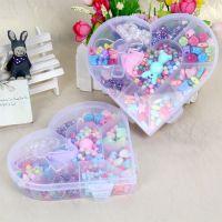 新款厂家直销彩色糖果色 儿童diy早教智力开发串珠玩具 盒装礼物