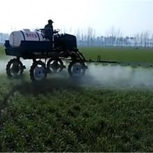 优质新款自走式四轮打药机大型农业机械四轮水稻农药喷洒机25马力座驾式喷雾器浩阳