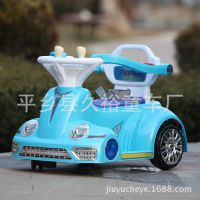 儿童瓦力车四轮汽车电动玩具遥控一对一带语音早教可坐带护栏