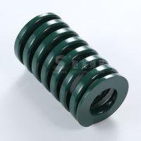定制绿色高负荷模具弹簧汽车改装强力压缩弹簧配件合金钢弹簧