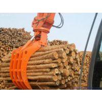 卡特315挖机抓木器 旋转抓具 机械式废钢抓木器现货