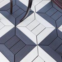 天津户外塑木地板 室外木塑地板 花园防腐木地板 庭院复合地板木塑板