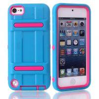 iPod touch5双层手机壳防摔保护套 苹果touch6 tpu+pc保护壳潮