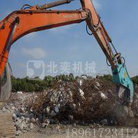 新房屋粉碎拆迁设备,液压粉碎剪,剪断钢筋回收设备