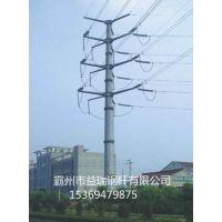 吕梁市 电力钢杆厂家 供应35kv钢管杆 打桩施工 诚信经营 基业