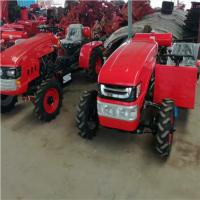 农用多缸大马力旋耕机 15马力小型单缸四轮拖拉机图片 四轮打田机