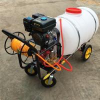 手推框架式汽油喷雾器 花卉洒水小型喷洒车 花生地打药喷雾器