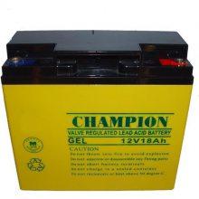 CHAMPION冠军蓄电池NP18-12免维护12V18AH UPS/EPS直流屏电源专用