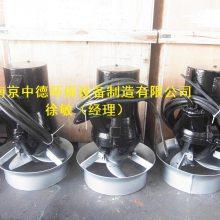 装配完整的QJB型潜水搅拌机现场安装后进行的负荷实验,以证明潜水搅拌器是否符合技术,中德水下搅拌机