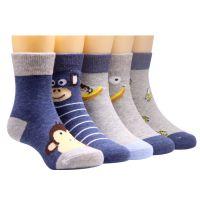 7儿童袜子棉祙子7防臭袿子中筒长3春秋冬袜5女童男童9十岁