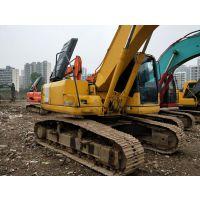 小松二手挖掘机PC200-7中型20吨履带式挖土机