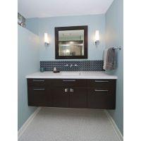 厂家直销大理石北欧风格简约现代板式浴室柜组合定制洗脸盆洗手盆卫生间洗漱台卫浴柜