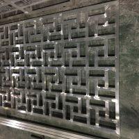 铝材窗花厂家 铝单板雕花窗花 中国红铝材窗花