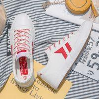 夏季新款小白鞋情侣帆布鞋男鞋韩版运动板鞋学生布鞋子批发6667