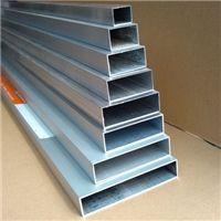 厦门6063-t6铝方管、工业装饰用5052铝方管 可定制任意规格
