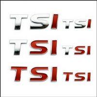 TSI标 金属车贴车标 高尔夫6新速腾波罗朗逸迈腾帕萨特 小字体