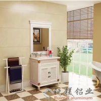 全铝家居型材大量现货 供应铝合金橱柜全铝浴室柜铝型材