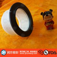 【润方】定制塑料王垫圈 PTFE密封垫片 聚四氟乙稀绝缘垫片