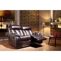 赤虎工厂供应出口头等舱真皮沙发 功能单人芝华士影院客厅沙发