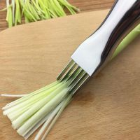 直销不锈钢葱丝刀切葱器切丝神器大葱刀葱苗刀创意多用厨房小工具
