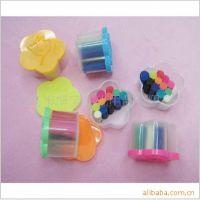 精品推荐桶装环保橡皮泥 梅花型小款多彩泥橡皮泥 橡皮泥玩具