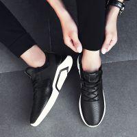 2018秋季新款潮流百搭男士跑步运动休闲板鞋青少年潮鞋韩版男鞋子