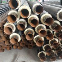 鼎固48*30聚氨酯玻璃钢预制直埋管 高温复合无缝管厂家