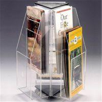 定制亚克力宣传册放置架 有机玻璃 海报展示架