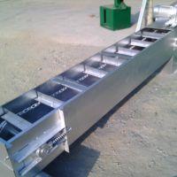 轴承密封沙子刮板运输机多用途 倾斜式链板输送机生产规格加工厂家