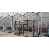 廊坊温室大棚施工图片,廊坊玻璃智能温室大棚厂家施工图