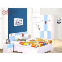 富滋雅储物床现代单层床铺儿童成人板式床可定制