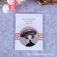 定制创意随身卡通化妆镜圆形甜美可爱便携小镜子 马口铁小圆镜
