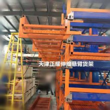 江苏板材货架 隔间板存放架 抽屉式结构 方便安全