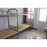 南通铁床上下铺高低床员工床宿舍床双人铁床