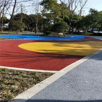 惠州小区路面秀城10公分C25彩色透水混凝土材料 透水地坪添加剂直销