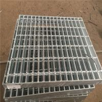 排水沟格栅板 地沟钢盖板 压焊钢格板